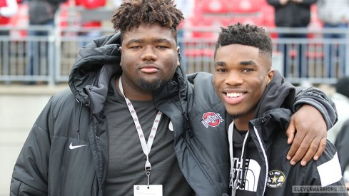 Marvin Wilson and Jeffrey Okudah