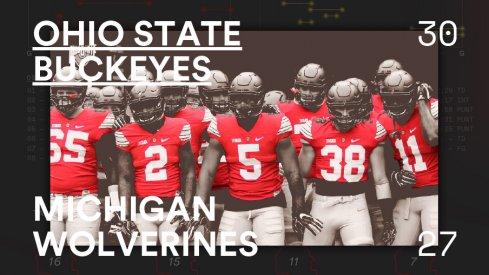 Ohio State Michigan Infographic Header