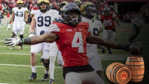 Curtis Samuel's game-winner against Michigan.