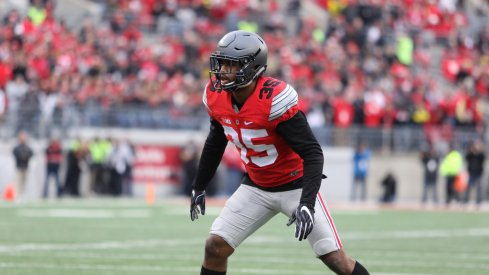 All three Buckeye linebackers showed up to play in the 2016 regular season finale