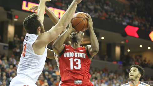 Ohio State blew a huge lead at Virginia on Wednesday and fell to the Cavaliers.
