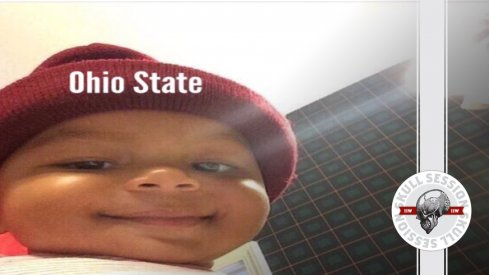 Ohio State baby is content with the December 5th 2016 Skull Session.