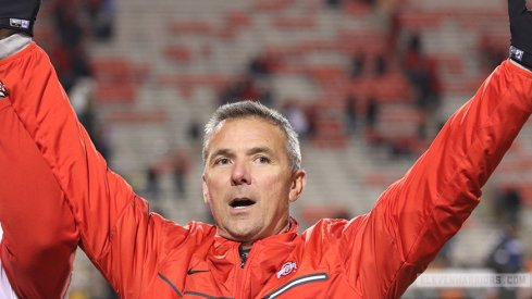Urban Meyer is feeling Ohio State's chances to make the College Football Playoff.