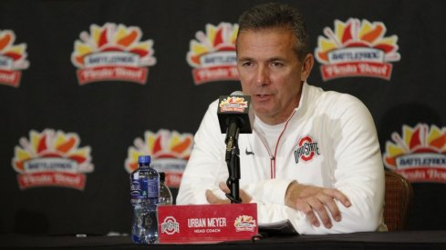 Urban Meyer will have his team ready for the 2016 Playstation Fiesta Bowl aka CFP semifinal.