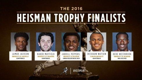 Heisman Trophy finalists