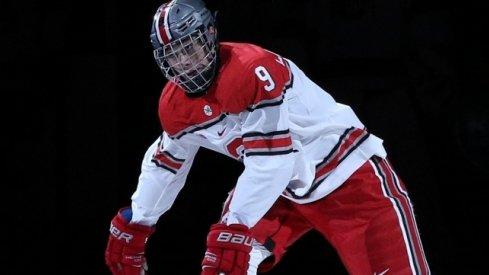 Buckeye rookie Tanner Laczynski is on Team USA's preliminary World Juniors roster.