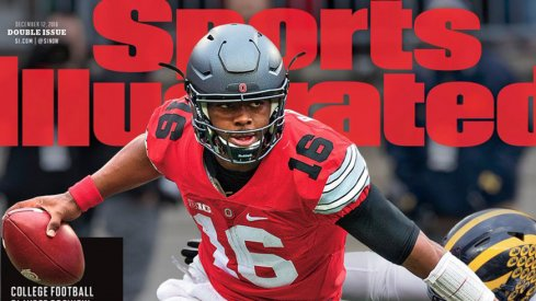 J.T. Barrett on the Cover of Sports Illustrated.