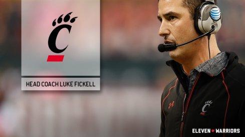 Ohio State co-defensive coordinator Luke Fickell will be the next coach of the Cincinnati Bearcats.