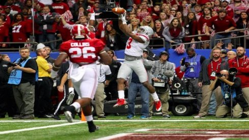 Landon Collins gets a primetime view of the Sugar Bowl loss to Ohio State.