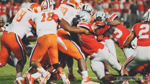 Clemson is one of the few teams to have a 1.000 winning percentage against Ohio State.