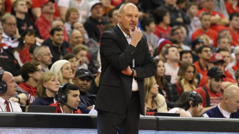 Thad Matta joined the other 13 Big Ten men's basketball coaches on a teleconference on Monday.