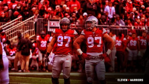 A comparative look at the freshman seasons of Ohio State defensive linemen Nick and Joey Bosa.