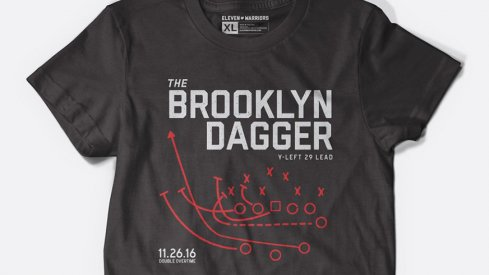 The Brooklyn Dagger Tee available at Eleven Warriors Dry Goods
