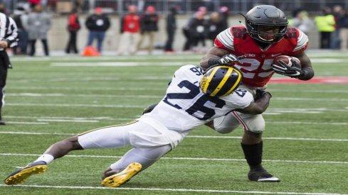 Michigan Man Jourdan Lewis still carrying salt over loss to Ohio State.