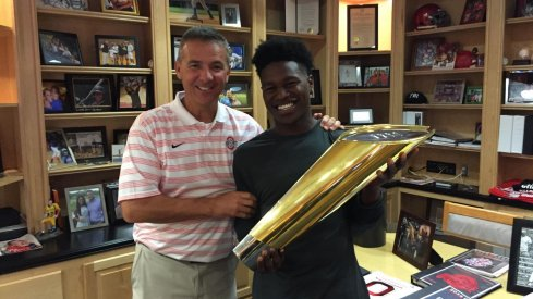 The Buckeyes may now be the team to beat for five-star cornerback Darnay Holmes.