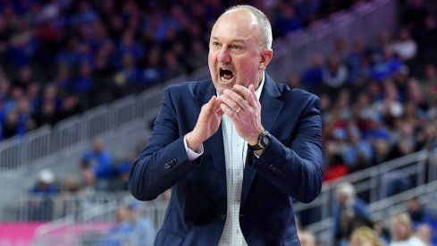 Ohio State coach Thad Matta strolls the sidelines against UCLA.