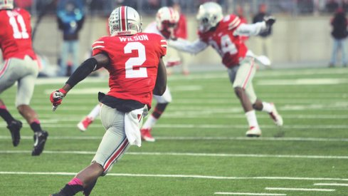 Fight to the End: Ohio State senior H-Back Dontre Wilson.