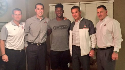 The Buckeyes fended off Bama for five-star linebacker Baron Browning.