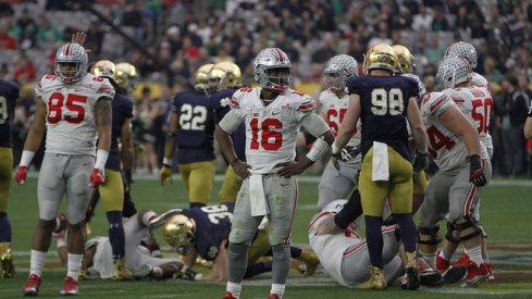 buckeyes beat irish in the first of two 2016 fiesta bowls