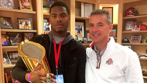 Four-star wideout Jaylen Harris has a decision to make in the coming months.