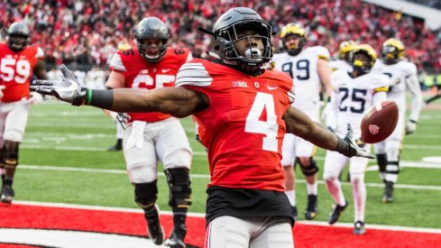 curtis samuel wins the Michigan game