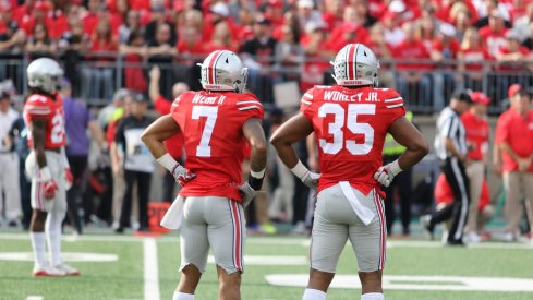 Damon Webb and Chris Worley are two new defensive starters for Ohio State.