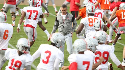 Urban Meyer balances work and play with his Ohio State team as it readies for the Fiesta Bowl against Clemson.