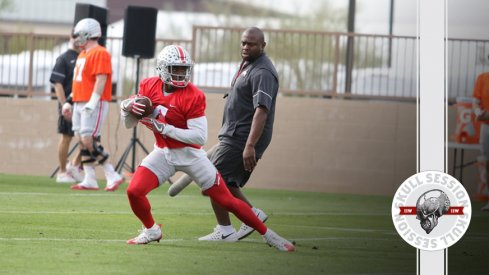 Ohio State's Curtis Samuel prepares for the December 30th 2016 Skull Session
