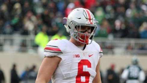 Ohio State defensive end Sam Hubbard tweets he will return to Ohio State in 2017.