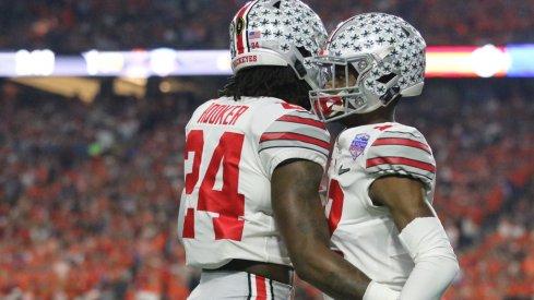 Ohio State's Malik Hooker and Denzel Ward.