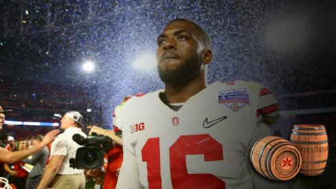 j.t. barrett at the 2016 playstation fiesta bowl