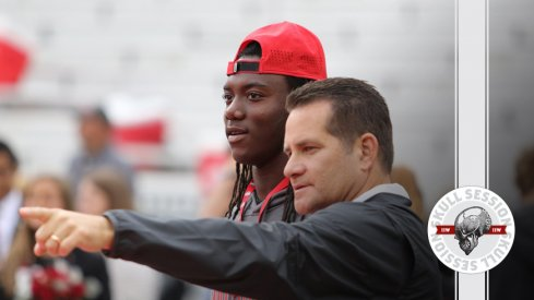 Ohio State's Tim Beck leads Emory Jones to January 4th 2017 Skull Session.