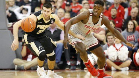 Purdue defeated Ohio State on Thursday night 76-75.