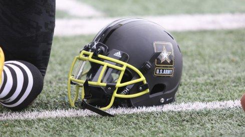 Shaun Wade's Army Bowl helmet.