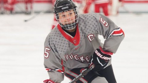 Breanne Grant was one of six different goal scorers in Ohio State's victory over Penn State.