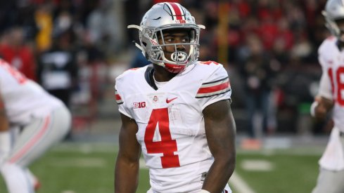 Ohio State wide receiver/running back Curtis Samuel during a game earlier this season.