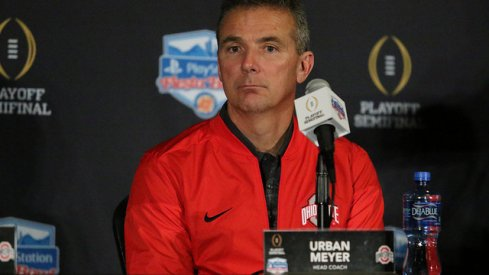 Ohio State behind Florida State and Alabama in 2017 title odds.