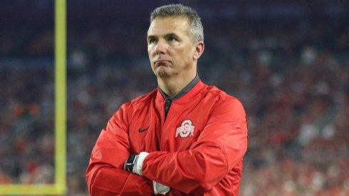 Ohio State head coach Urban Meyer prior to the Fiesta Bowl.