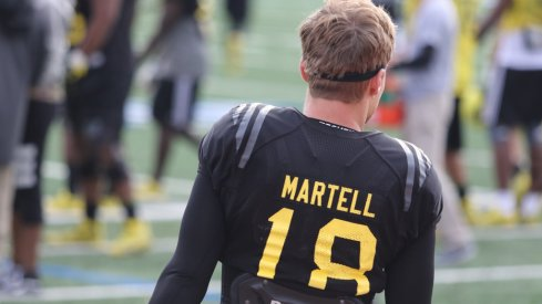 Tate Martell at the Army All-American game.