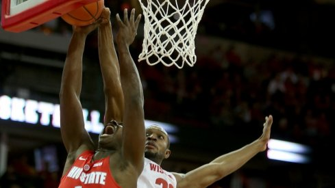 Wisconsin routed Ohio State on Thursday night in Madison.