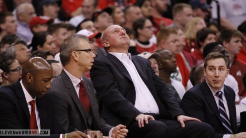 Thad Matta and his coaching staff