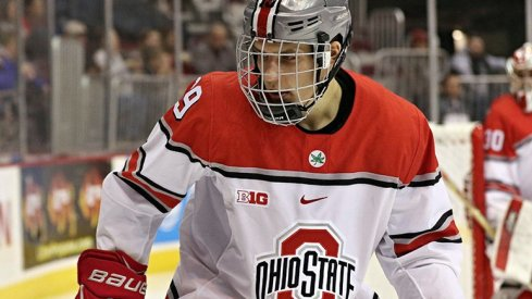 Kevin Miller netted a goal for Ohio State in a 2-2 tie against Arizona State.