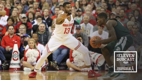 JaQuan Lyle defends in Ohio State's home victory against Michigan State.