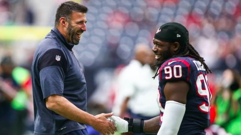 Former Ohio State star Mike Vrabel promoted to Houston Texans DC.