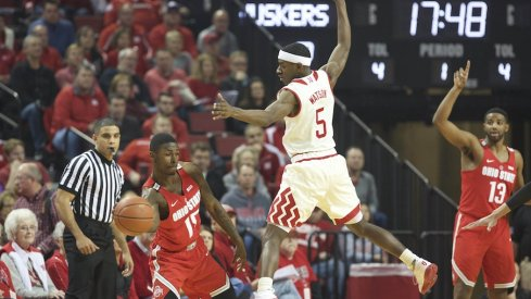 Ohio State used a second half rally to top Nebraska on Wednesday.