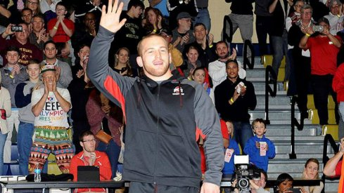 Ohio State heavyweight Kyle Snyder