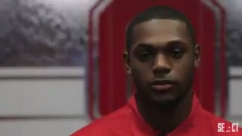 Ohio State linebacker Baron Browning.