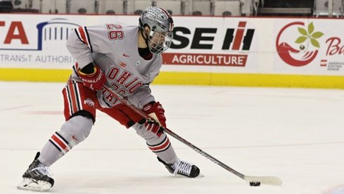 Buckeye Mason Jobst is the NCAA's Second and the Big Ten's First Star of the Week.