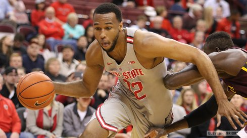 Trevor Thompson leads Ohio State to a victory over Minnesota on Wednesday.