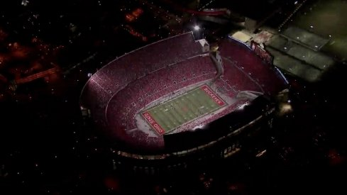 Looking live at Ohio Stadium